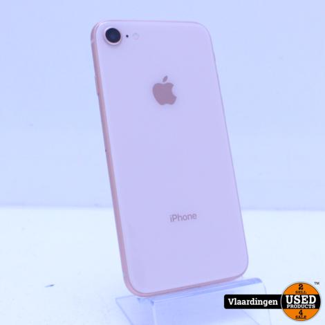iPhone 8 64GB Rose Gold - In Topstaat- Met Garantie -
