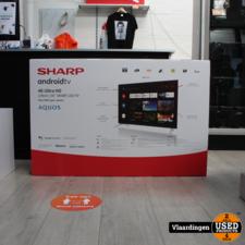 sharp Sharp 55 inch 4K Ultra-HD Android SmartTV  - Nieuw in doos - 2 jaar Garantie -