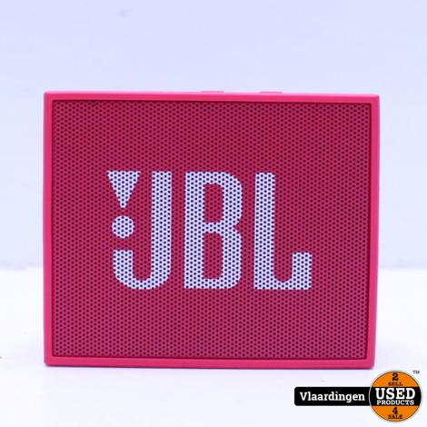 JBL Go Roze - Nieuwstaat-