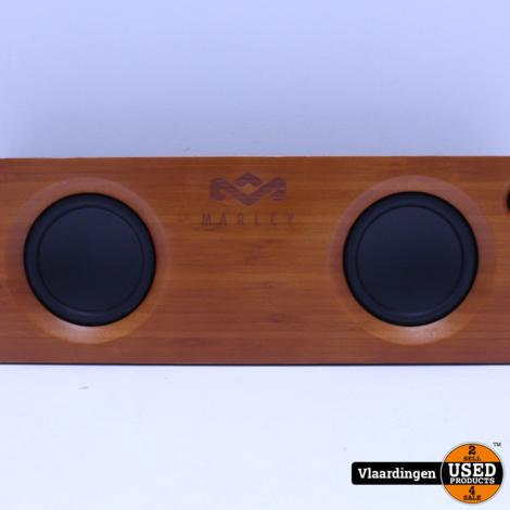 House of Marley  Get Together Bluetooth Speaker Zwart -  Top Staat - Met Garantie -