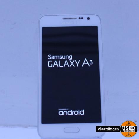 Samsung Galaxy A3 (2015) 16GB Silver - Met Garantie -
