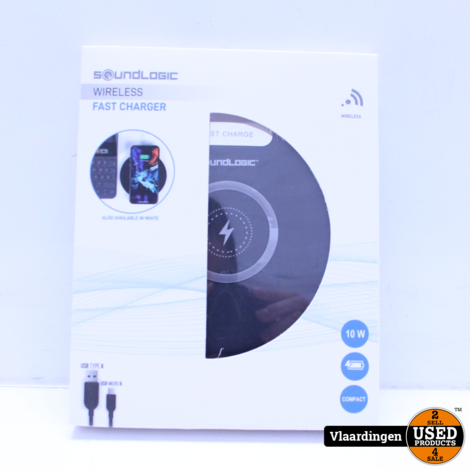 Sounlogic Wireless Fast Charger *NIEUW IN DOOS*