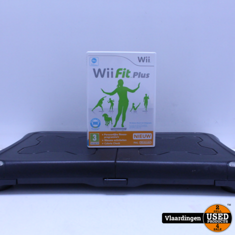 Balanceboard met Wii fit Plus