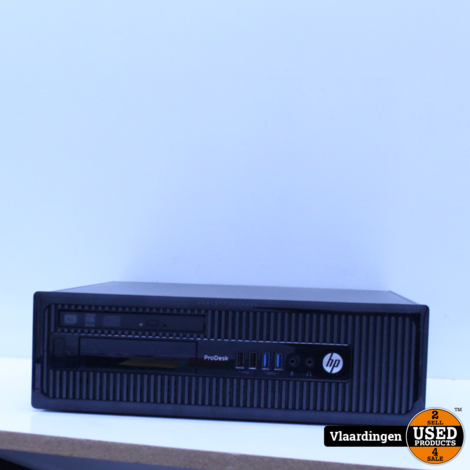HP ProDesk 400 G1 SFF - Intel Core i3 4-gen - Win 10 - 8GB - 1280GB SSD