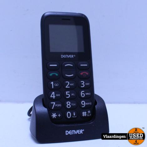 Denver Mobiele telefoon met SOS KNOP