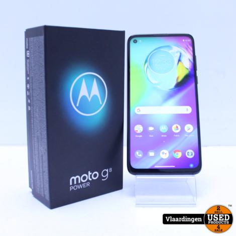 Motorola Moto G8 Power 64GB Zwart - met Garantie tot 07-05- 2022 -