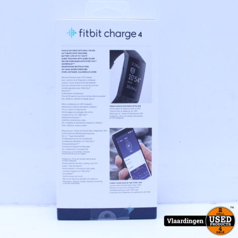 Fitbit Charge 4 Fitness Tracker + GPS - Nieuw in doos -
