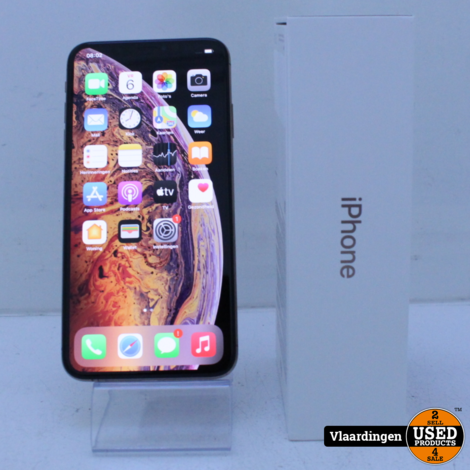 iPhone XS Max Goud 256GB - in Doos - met Garantie