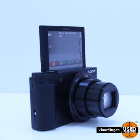 Sony DSC-HX80 Vlogcamera - Topstaat -  met Garantie -