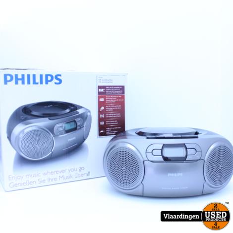 Philips AZB600/12 grijs CD /RADIO Speler