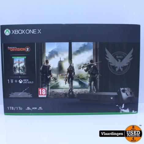XBox One X 1TB Zwart - Topstaat - met Garantie -