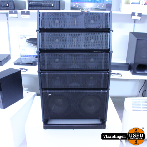 Citronic CLA-300 Compact Active Line Array Speaker System