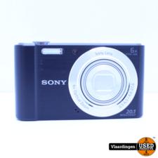 Sony Sony Cyber-shot DSC-W810  20.1 MP - In topstaat - met Garantie -
