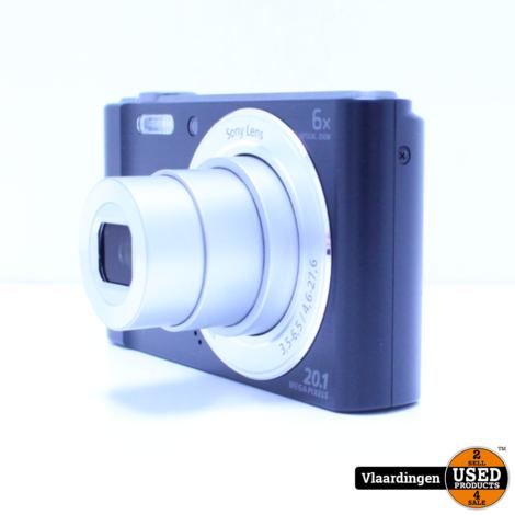 Sony Cyber-shot DSC-W810  20.1 MP - In topstaat - met Garantie -