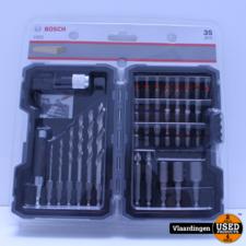 Bosch Bosch Bit en Borenset  35 - Delig  Nieuw -