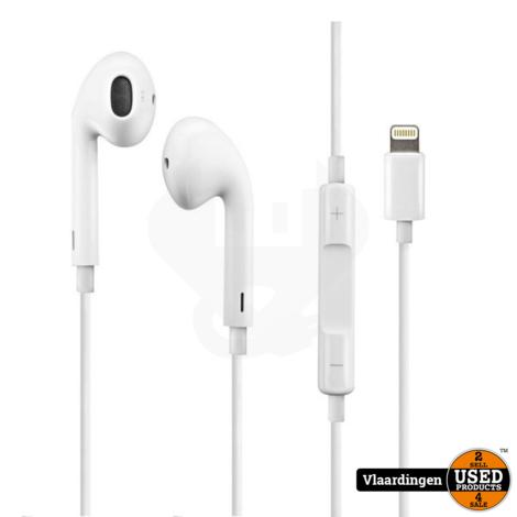 iPhone Oordopjes Lightning Connector iphone 7 en hoger  - Nieuw -