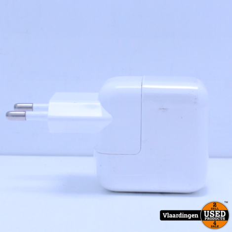 Usb A lichtnetadapter (10W) voor iPad  - Nieuw -