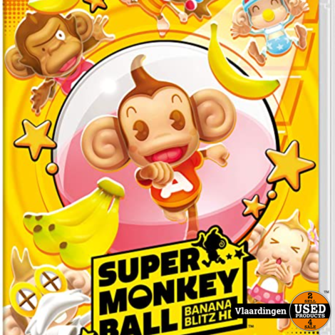 Nintendo Swich - Super Monkey Ball -