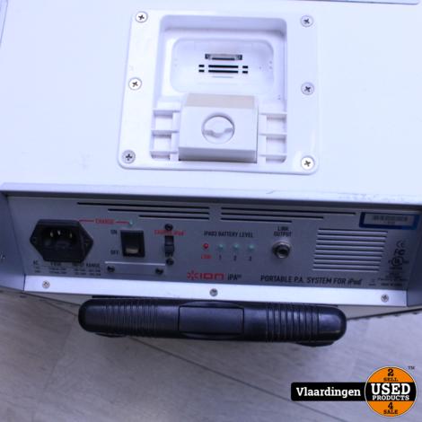 ION Block Rocker iPA03 Speaker (accu defect) incl. Aux-Kabel