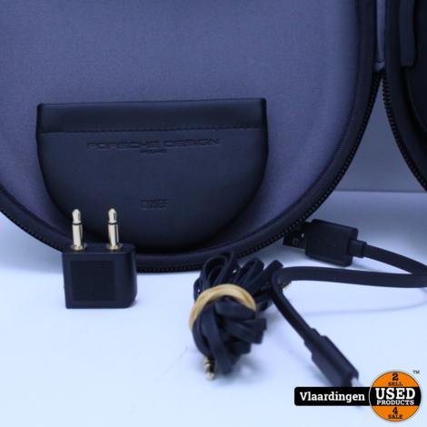 Kef Space One Wireless Porsche Design Zwart NC Over Ear - In goede staat - incl Hoes - Met Garantie -