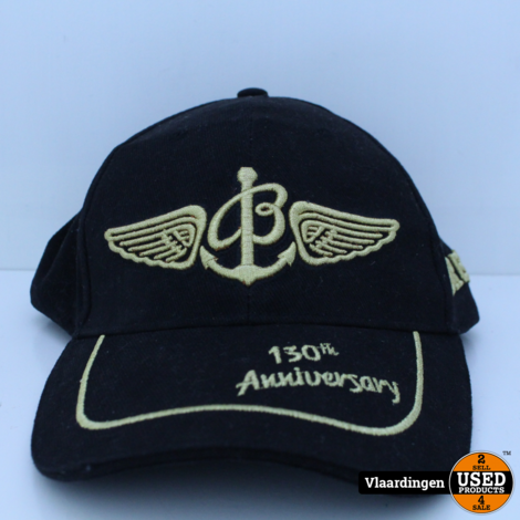 BREITLING Cap 130th Anniversary Black /Gold New without Tags