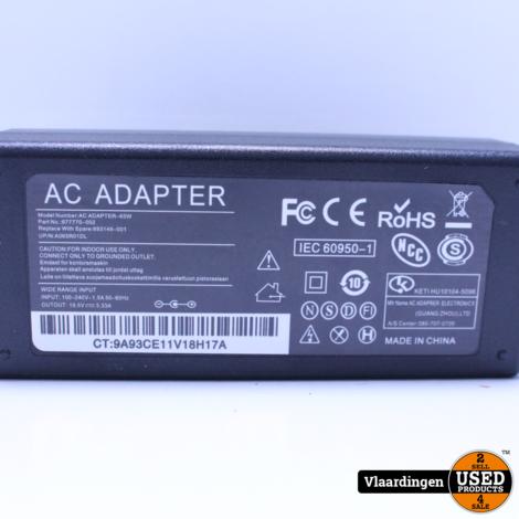 Laptop Adapter voor HP - Nieuw in Doos -