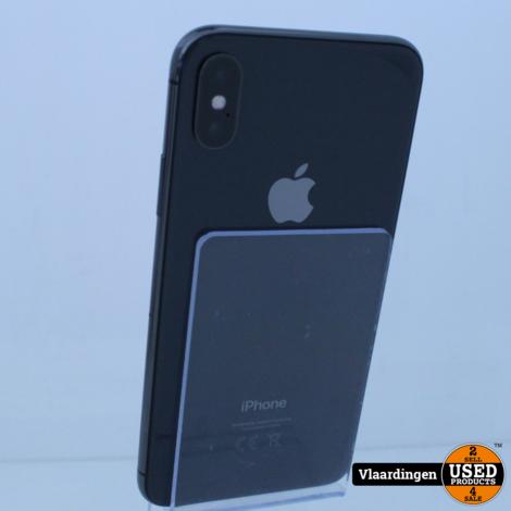 iPhone X 256GB Space Gray - In goede staat -  Met Garantie -
