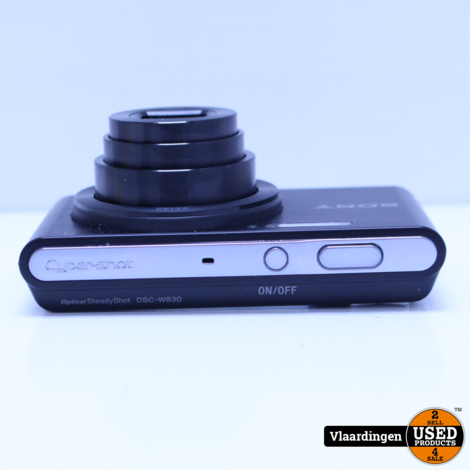 Sony cyper-shot DSC-W830 camera-met garantie-