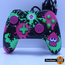 nintendo Switch Power A Wired Controller - Splatoon 2 Switch