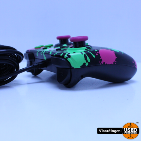 Power A Wired Controller - Splatoon 2 Switch