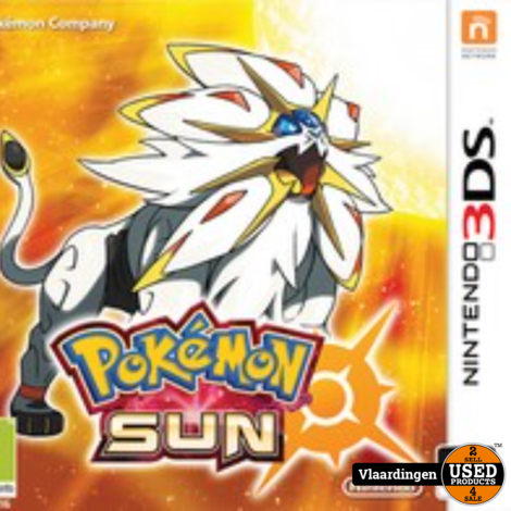 Nintendo 3DS - Pokemon Sun -