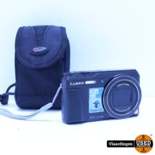 Panasonic Panasonic Lumix DMC-TZ55/ Vlog Camera zwart Incl 8GB Sd Kaart. - Nieuwstaat - Met Garantie -
