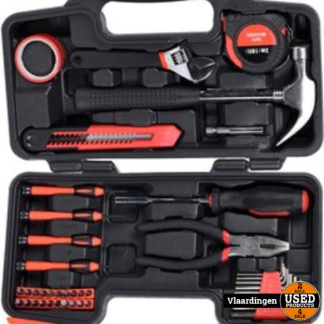 FX Tools Gereedschapskoffer 40-delig - Nieuw in doos -