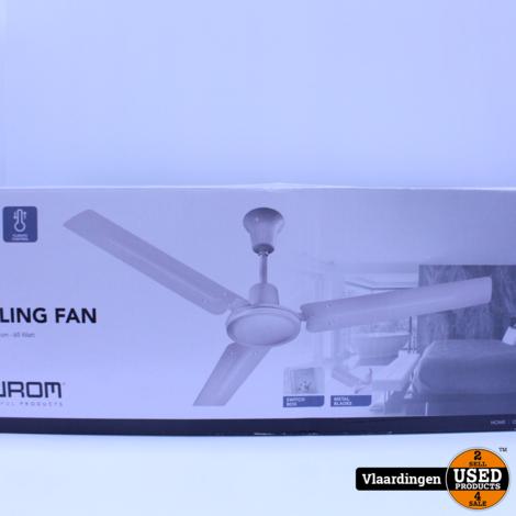 Eurom Plafond Ventilator 122 CM 65Watt - Nieuw in Doos -