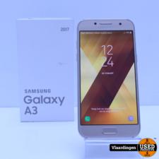 Samsung Samsung Galaxy A3 2017 16GB Gold Sand - In goede staat - in doos - met garantie -