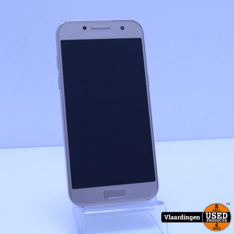 Samsung Galaxy A3 2017 16GB Gold Sand - In goede staat - in doos - met garantie -