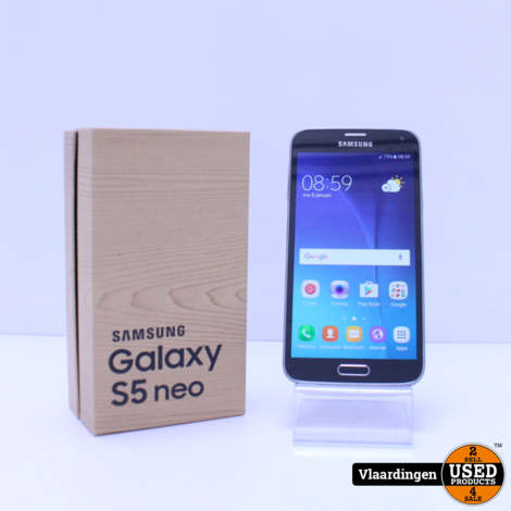 Samsung Galaxy S5 Neo Black 16GB - In Top Staat -