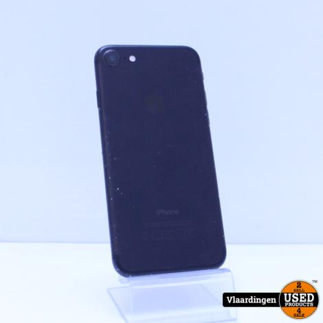 iPhone 7 128GB Zwart - in goede staat - Accu 100% - met garantie -