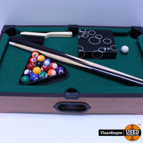 Tabletop Pooltable  - *ZGAN*