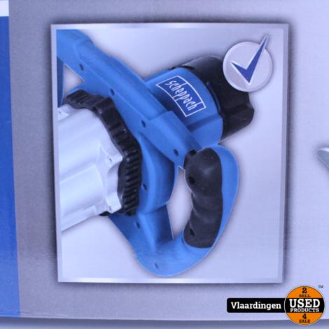 SCHEPPACH MIXER PM1800D (DUBBELE GARDE) - Nieuw in doos -