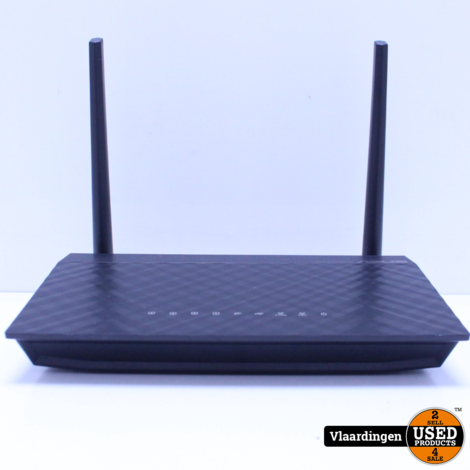 ASUS RT-AC51U draadloze router Dual-band (2.4 GHz / 5 GHz) Fast Ethernet Zwart