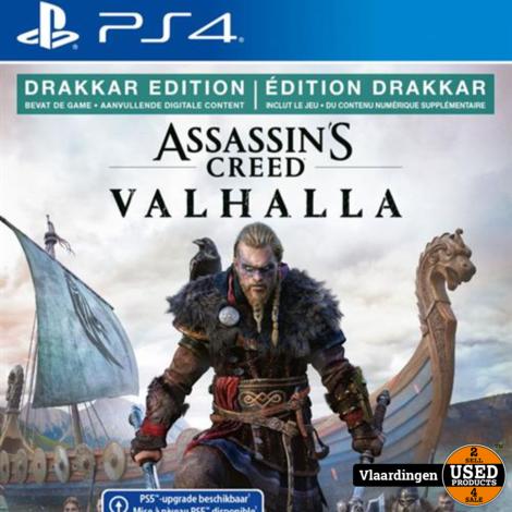 Playstation 4  - Assassins Creed Valhalla -