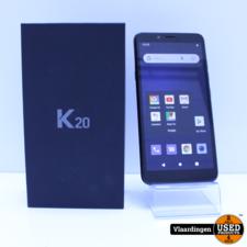 lg LG K20 Zwart 16GB - Nieuwstaat -