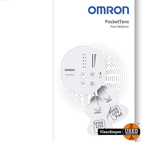 OMRON PocketTens Pijnverlichter - Nieuw in Doos -