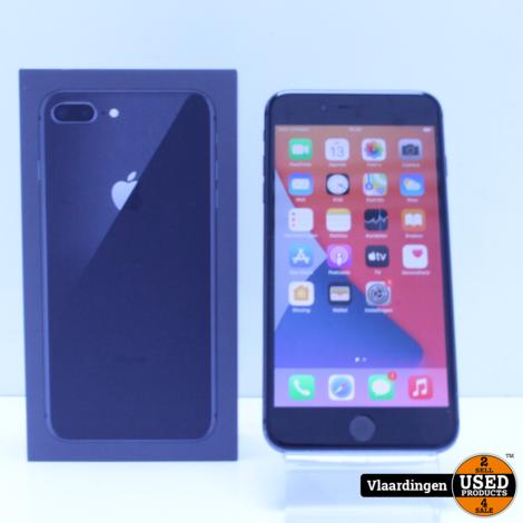 iPhone 8 Plus 64GB - In goede staat - Geleverd in doos - Met Garantie - 81% -