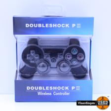 Controller voor Playstation 3 - Zwart - Nieuw in Doos -