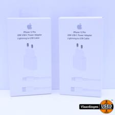 20 Watt Set USB-C - Lightning kabel - iPhone - Nieuw in Doos -