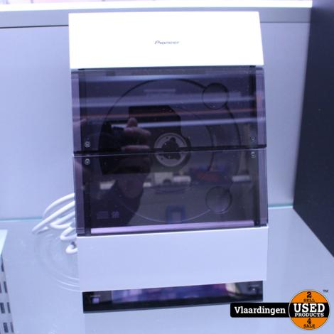 Pioneer 2.1 Stereo Radio/CD speler met Aux ingang M-F10