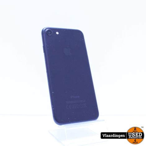 iPhone 7 32GB Zwart - In doos - In nette staat - Met garantie -
