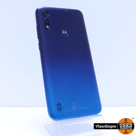 Motorola E6s Peacock Blue 32GB